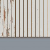 Painted old wooden panels vector illustration