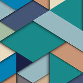 Abstract colored wallpaper in material design style Modern geometric design in trendy colors Vector background