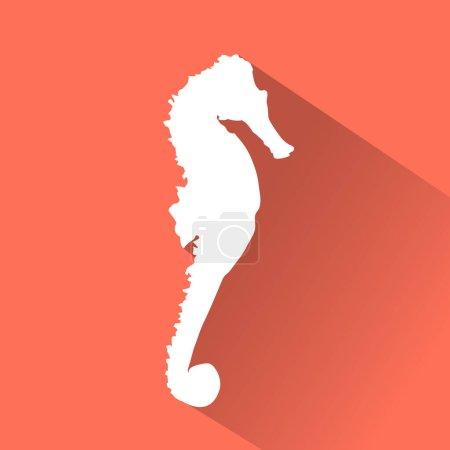 Seahorse Flat icon