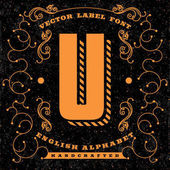 Luxury logo designLetter u logo