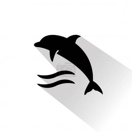 Black travel icon