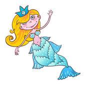 Sweetheart mermaid Kawaii girl Naiad Maritime princess