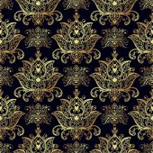 Seamless patterns of Russian motives of northern paintings Texture for scrapbooking wrapping paper textiles web page textile wallpapers surface design fashionskins smartphones