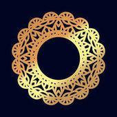 Gold mandalas Indian wedding meditation Buddhist medallion It can be used for tattoo prints on t-shirts design and ad restaurants For postcards design wedding invitations photo overlays