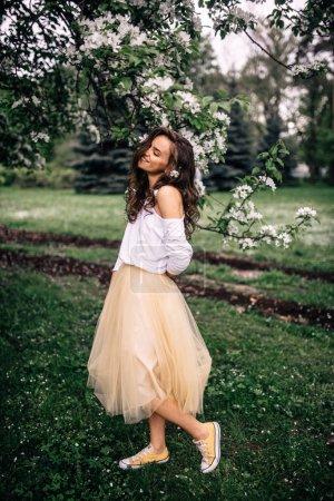 the girl - spring