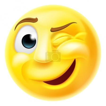 Winking Emoji Emoticon