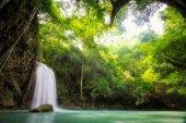 Erawan Waterfall, Erawan National Park in Kanchanaburi, Thailand