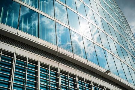 Photo for View of a modern glass building - Royalty Free Image