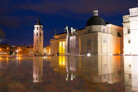 Vilnius Cathedral at Night