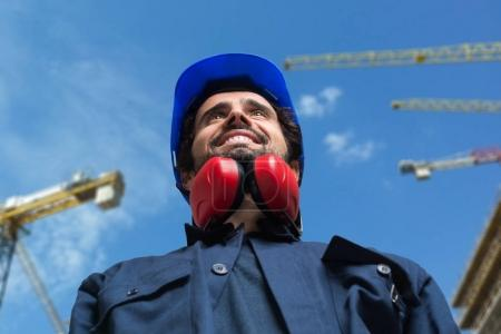 worker in construction Site