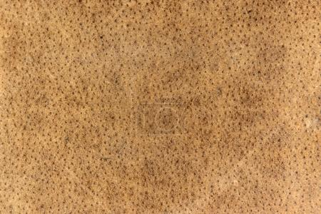 Photo for Natural brown leather texture background - Royalty Free Image