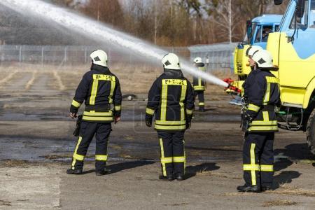 brave firemen drills
