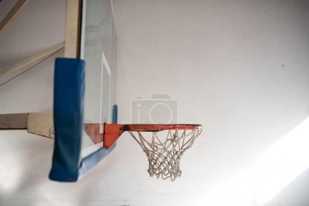 school gym interior with basket