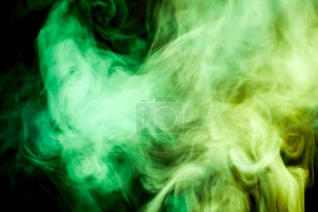 Background from the smoke of vape