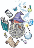 Old Wizard Portrait