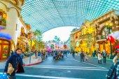 OSAKA, JAPAN - December 1, 2015: Universal Studios Japan (USJ).