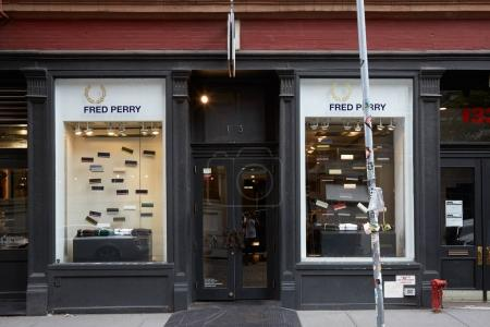 Fred Perry shop in Wooster