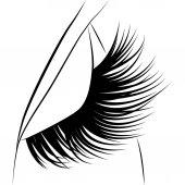 eyelash esign  background  art  abstract  white  black  beautiful