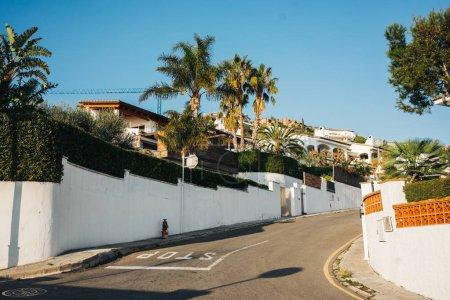 White living houses