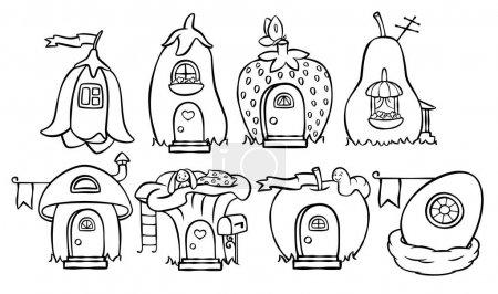 doodle magic house set