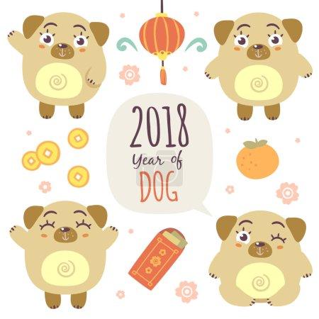 Chinese new year of dog