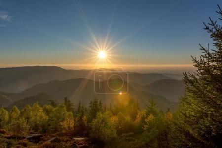 Autumn landscape - Black Forest