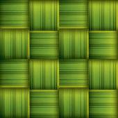 Ramadan greeting card with seamless ketupat texture vector illustration