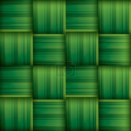 Ramadan greeting card with ketupat