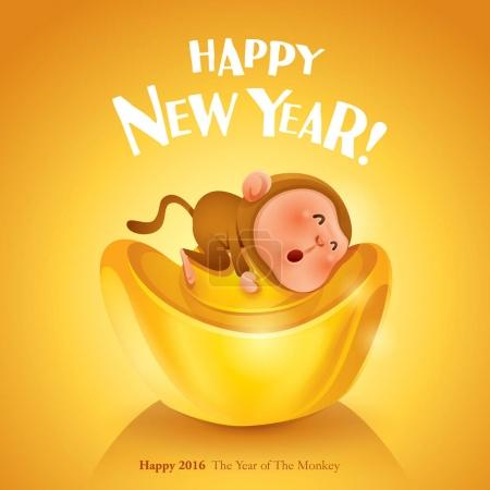 Happy New Year! The year of the monkey.