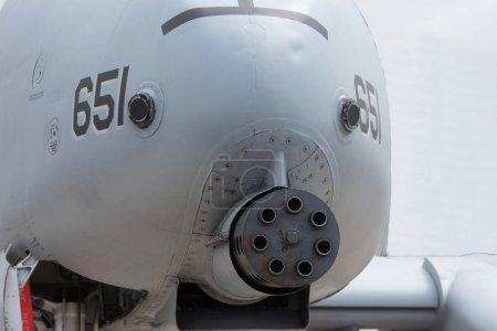 gun military air plane