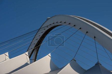 Photo pour Bâtiment du stade Durban en Afrique du Sud - image libre de droit