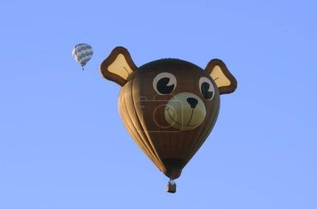 Hot air balloons in Chambley