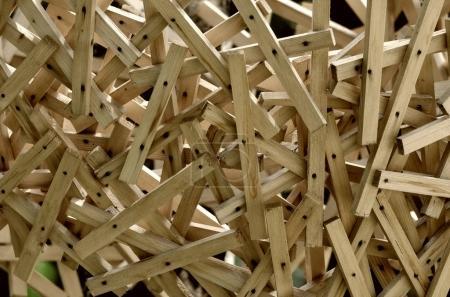 puzzle wooden sticks