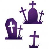halloween icons / grave