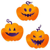 halloween icons / jack-o-lantern