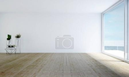 Photo for 3D rendering interior design - Royalty Free Image