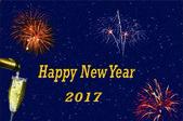 Novoroční pohlednice 2017