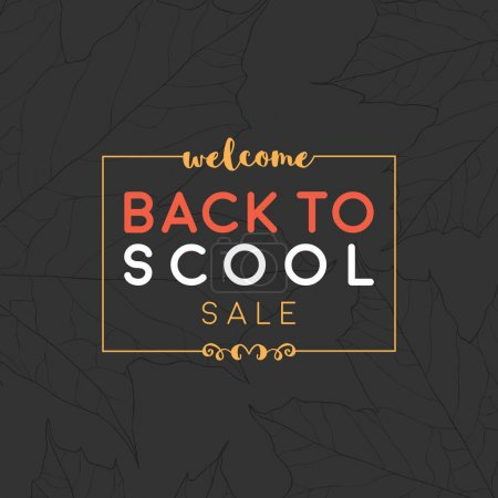 Back to school sale banner. Can be used for your a...