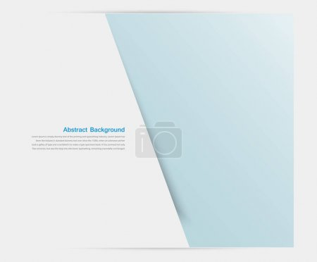 Photo for Banner background. White line illustration and design - Royalty Free Image