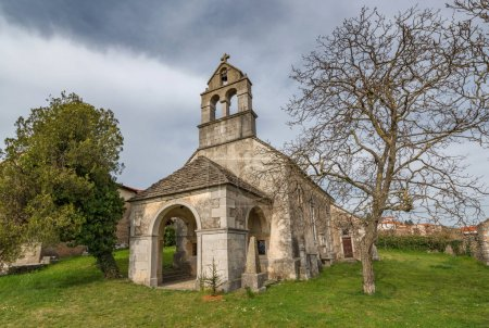 Church in the slovenian countryside