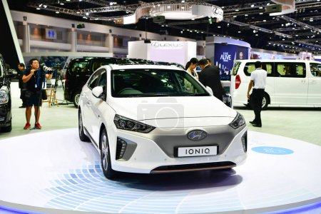 Hyundai IONIQ Hybrid car