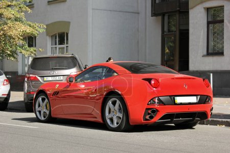 Exclusive private supercar in the