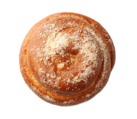 Photo pour Bonbon pain savoureux isolé sur blanc - image libre de droit