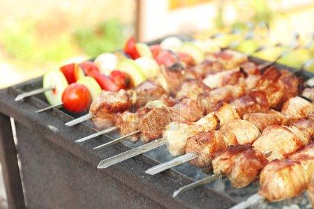 Fresh tasty barbecue