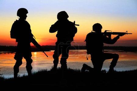 Military service concept.