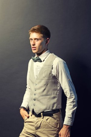 Young elegant man
