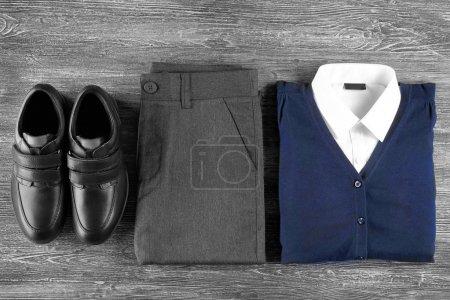 School uniform closeup