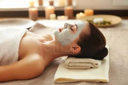 Spa concept with woman