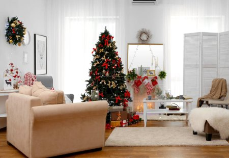 Interior of beautiful living room