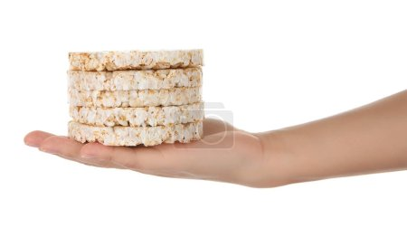 pile of rice crackers